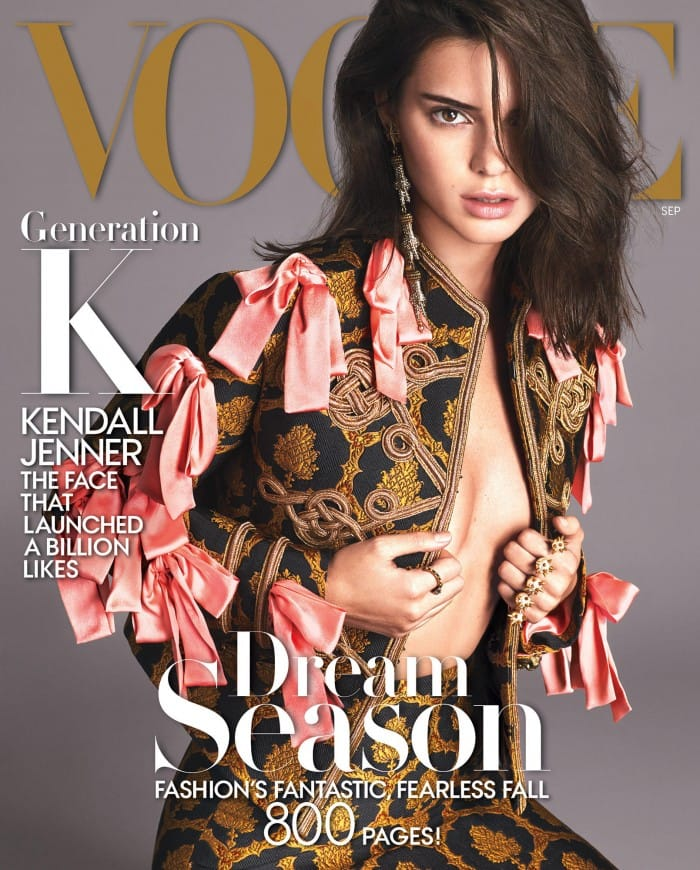 Vogue Magazine September 2016 - Kendall Jenner Cover - Parisian Wholesale