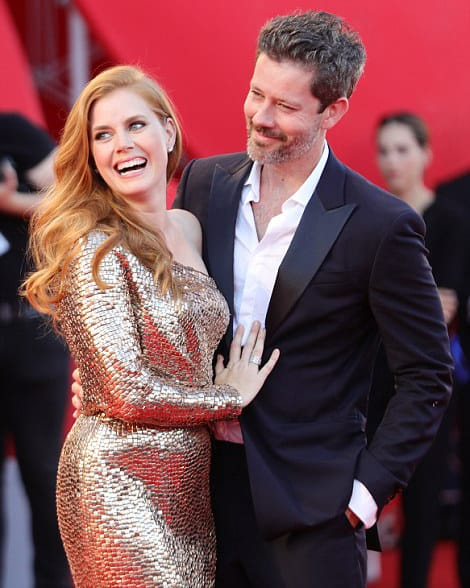 Amy Adams Tom Ford Gold Gown Venice FIlm Festival 2016 - Parisian Wholesale