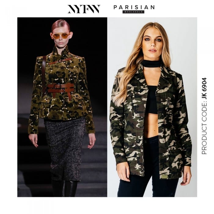 New York Fashion Week Tom Ford AW16 Camo - Parisian Wholesale