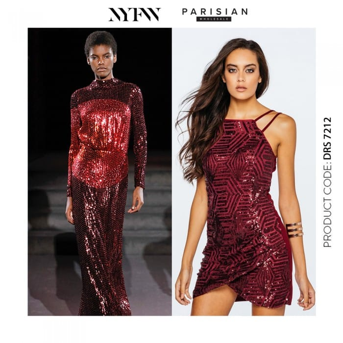 Tom Ford AW16 NYFW Sequin - Parisian Wholesale